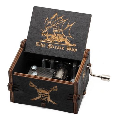 Caixa De Música Piratas Do Caribe Pirates Of The Caribbean - The Pirate Map - EV