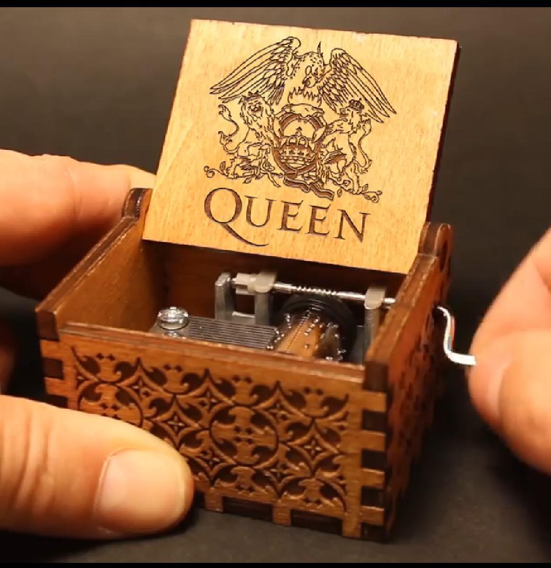 Caixa De Música Queen - Bohemian Rhapsody - Pronta Entrega
