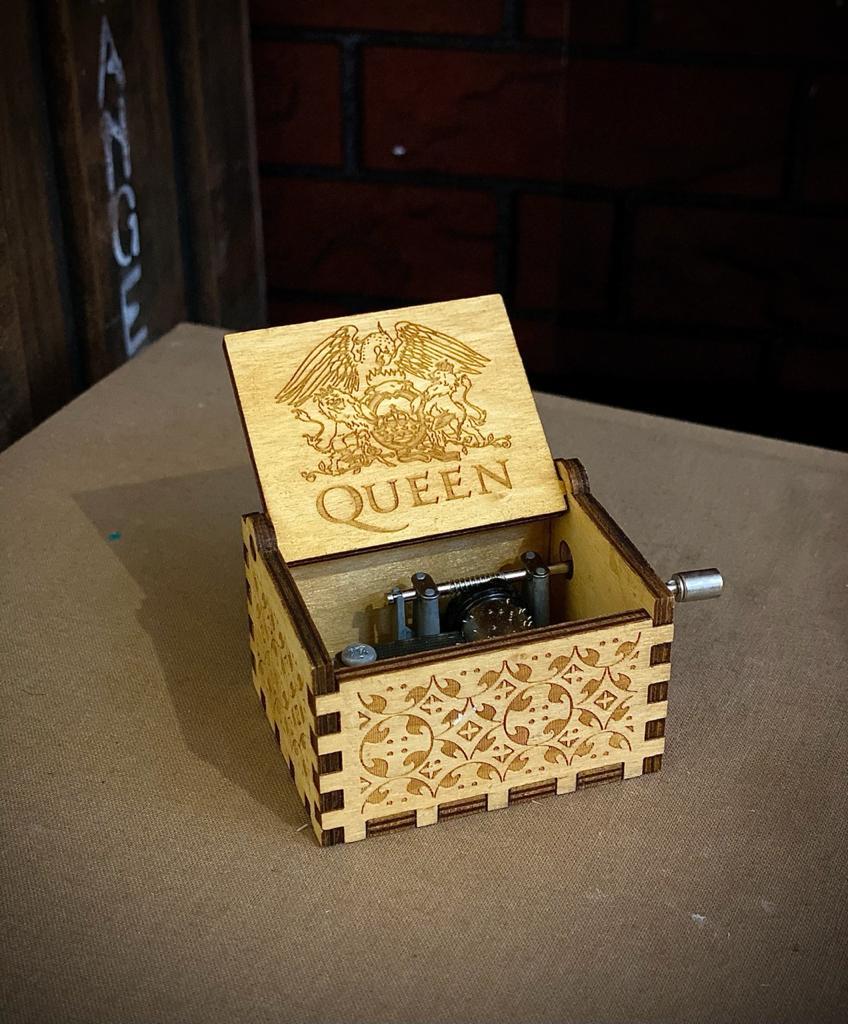 Caixa De Música Queen  Bohemian Rhapsody - EV