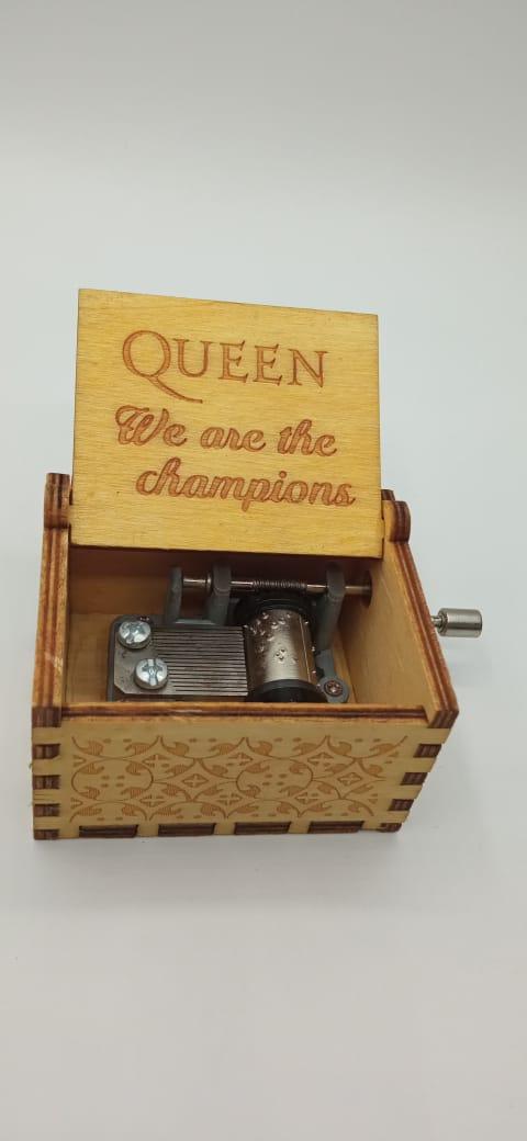 Caixa De Música Queen -  We Are The Champions