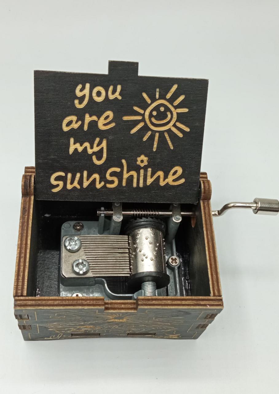 Caixa De Música You Are My Sunshine - EV