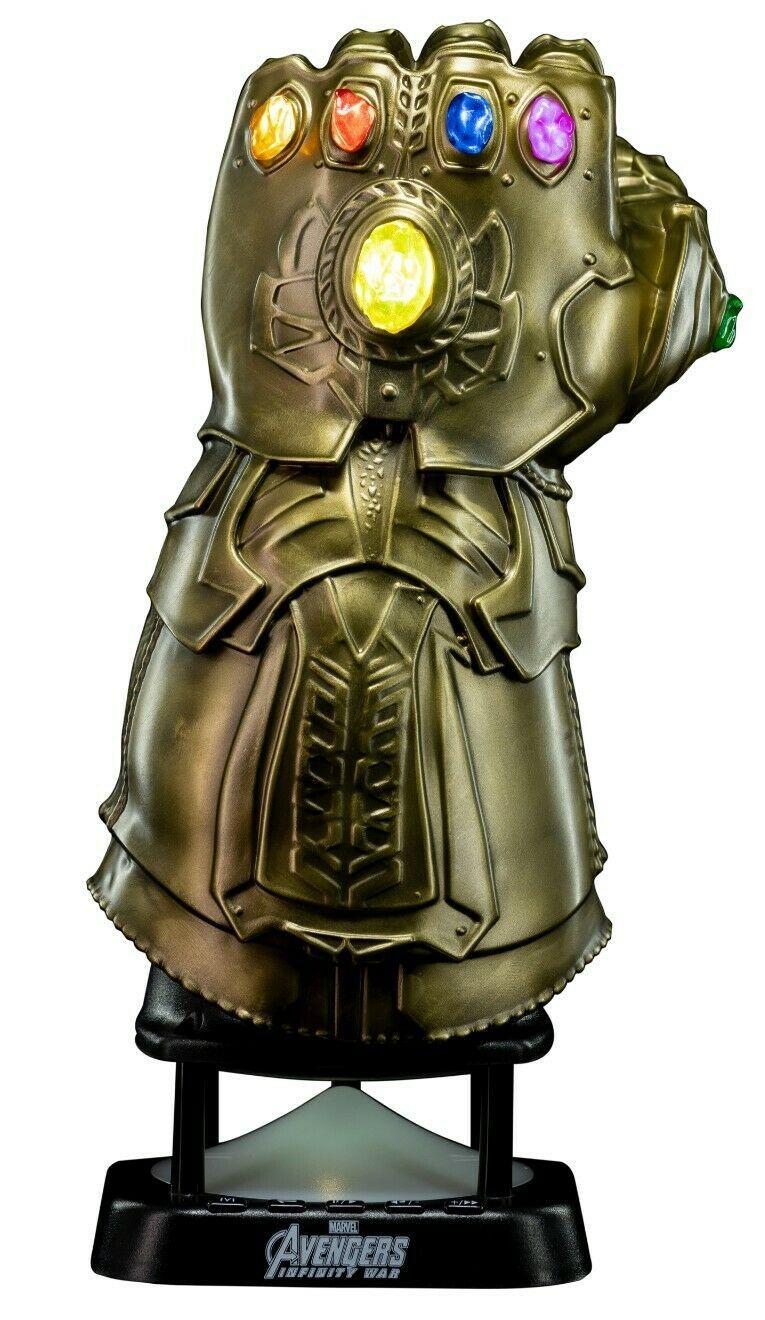 Caixa de Som Manopla do Infinito (Infinity Gauntlet): Vingadores Guerra Infinita (Avengers Infinity War) - (BT Speaker)