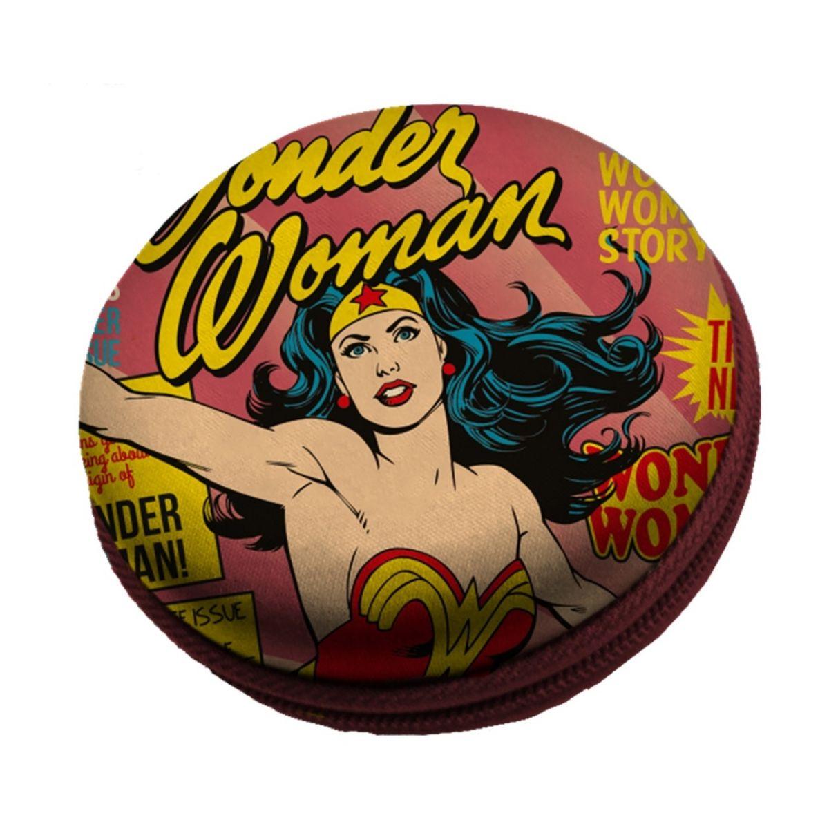 Caixa de Som Mulher Maravilha (Wonder Woman): DC Comics Rosa