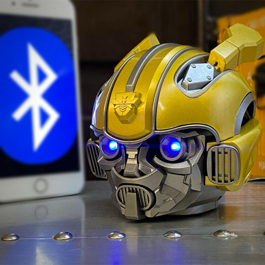Caixa de Som Speaker Bluetooth Autobots Bumblebee: Transformers