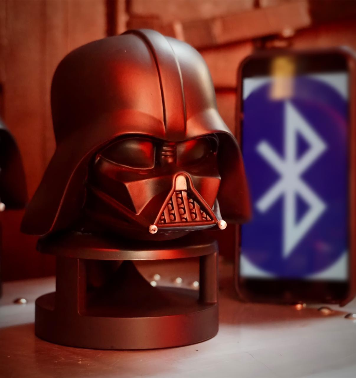 Caixa de Som Speaker Bluetooth Cabeça Darth Vader: Star Wars