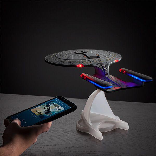 PRÉ VENDA: Caixa de Som Star Trek TNG U.S.S. Enterprise NCC-1701-D - Bluetooth
