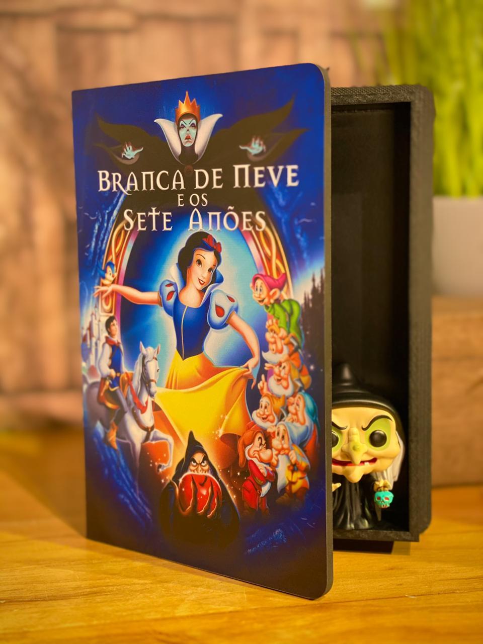 Caixa Livro Branca de Neve e os Sete Anões: Disney
