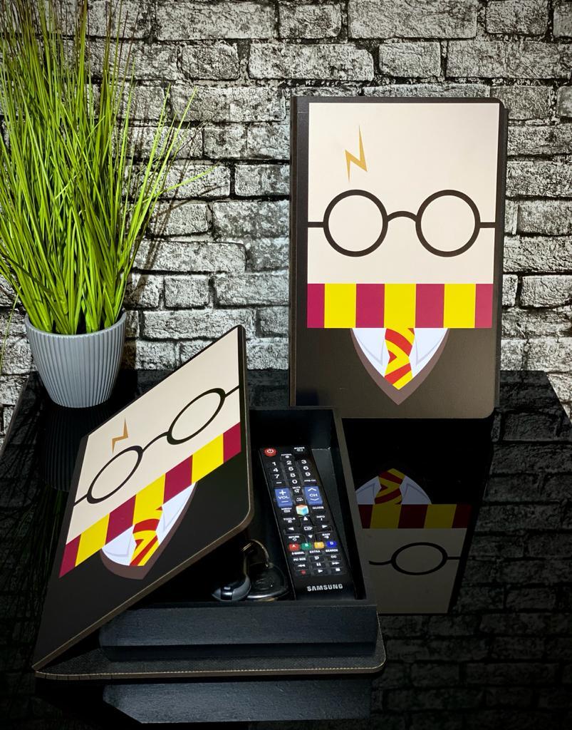 Caixa Livro Harry Potter (Cartoon): Harry Potter