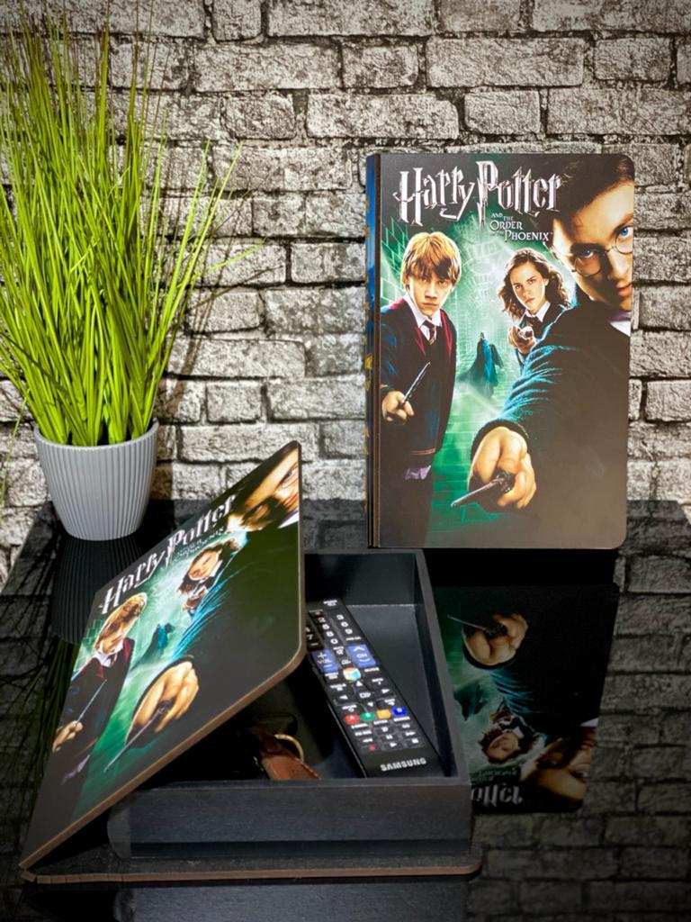 Caixa Livro Harry Potter e a Ordem da Fênix (Order of the Phoenix)