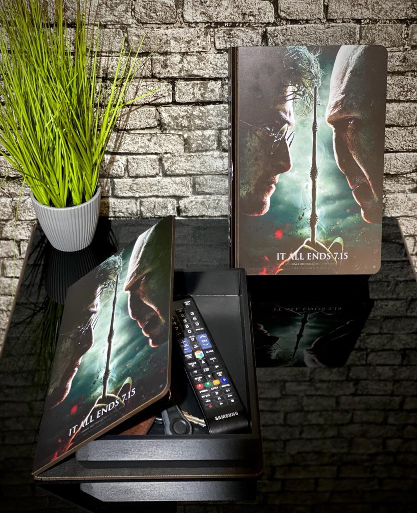 Caixa Livro Harry Potter (Film Collections)