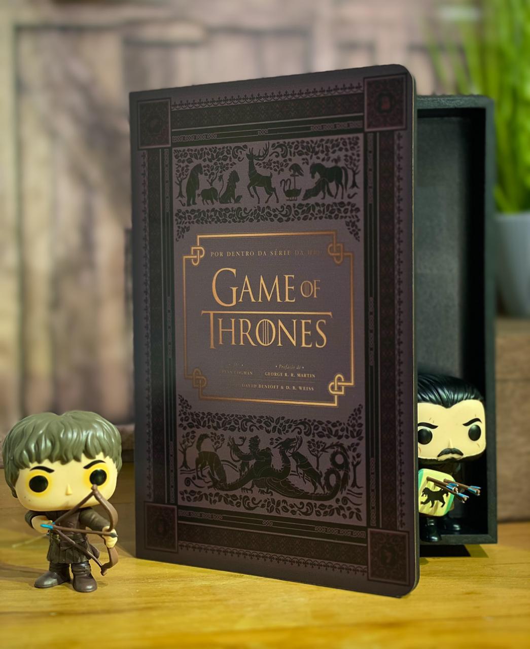 Caixa Livro Por Dentro da Série Game Of Thrones