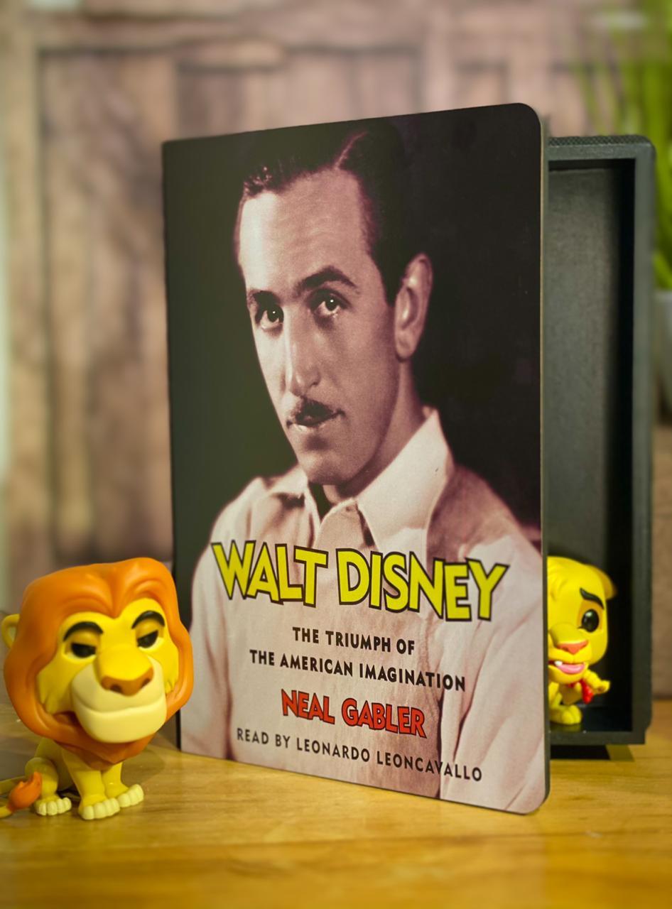 Caixa Livro Walt Disney: ''Neal Gabler'' - Disney