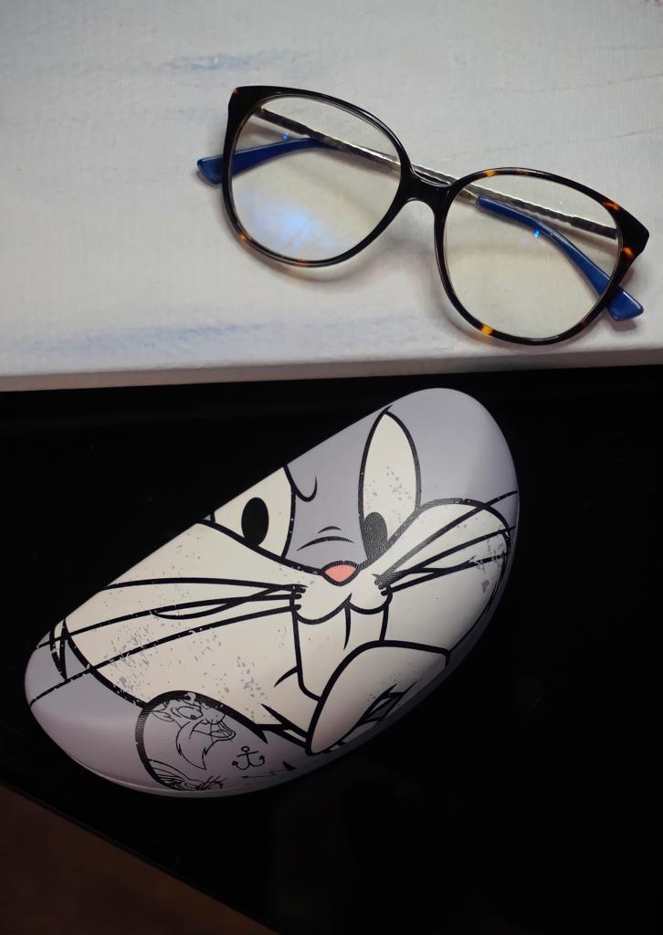 Caixa Óculos Pernalonga Bugs Bunny: Looney Tunes - Metropole