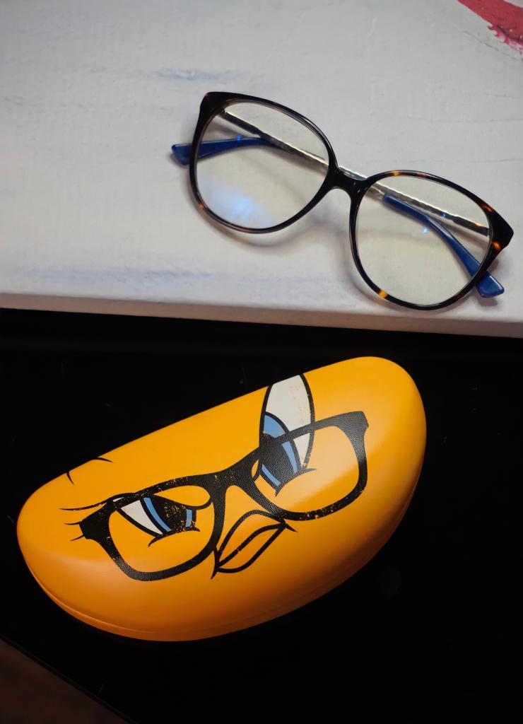 Caixa Óculos Piu Piu Tweety: Looney Tunes - Metropole