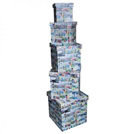 Caixa Organizadora - DC Comics