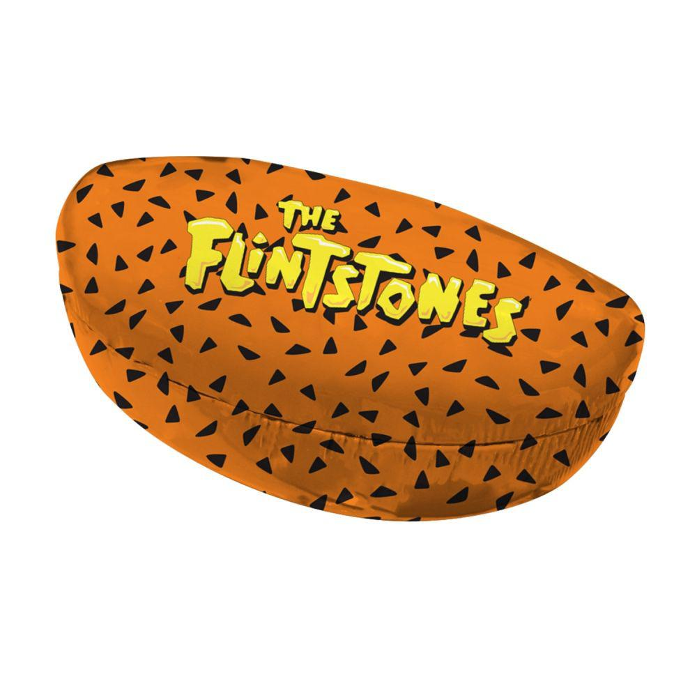 Caixa para Óculos Flintstones Laranja Logo