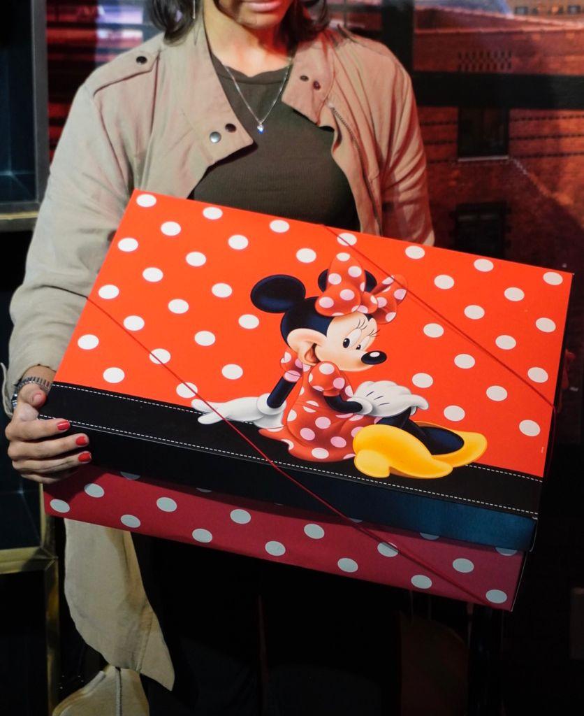 Caixa Presente com tampa Minnie Mouse: Mickey e Minnie Mouse - Disney