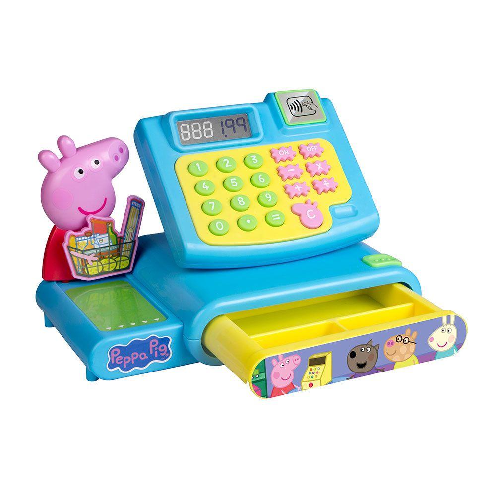 Caixa Registradora: Mercadinho Peppa Pig - DTC
