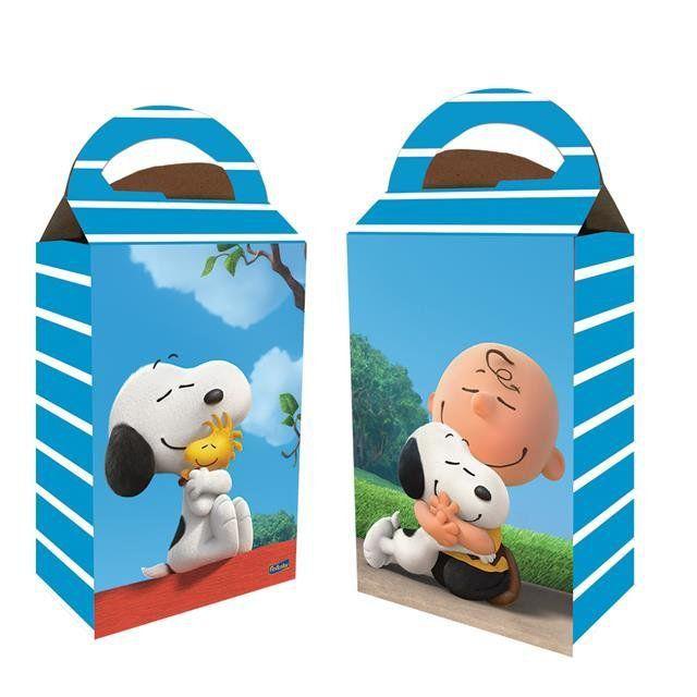 Caixa Surpresa Snoopy - Festcolor