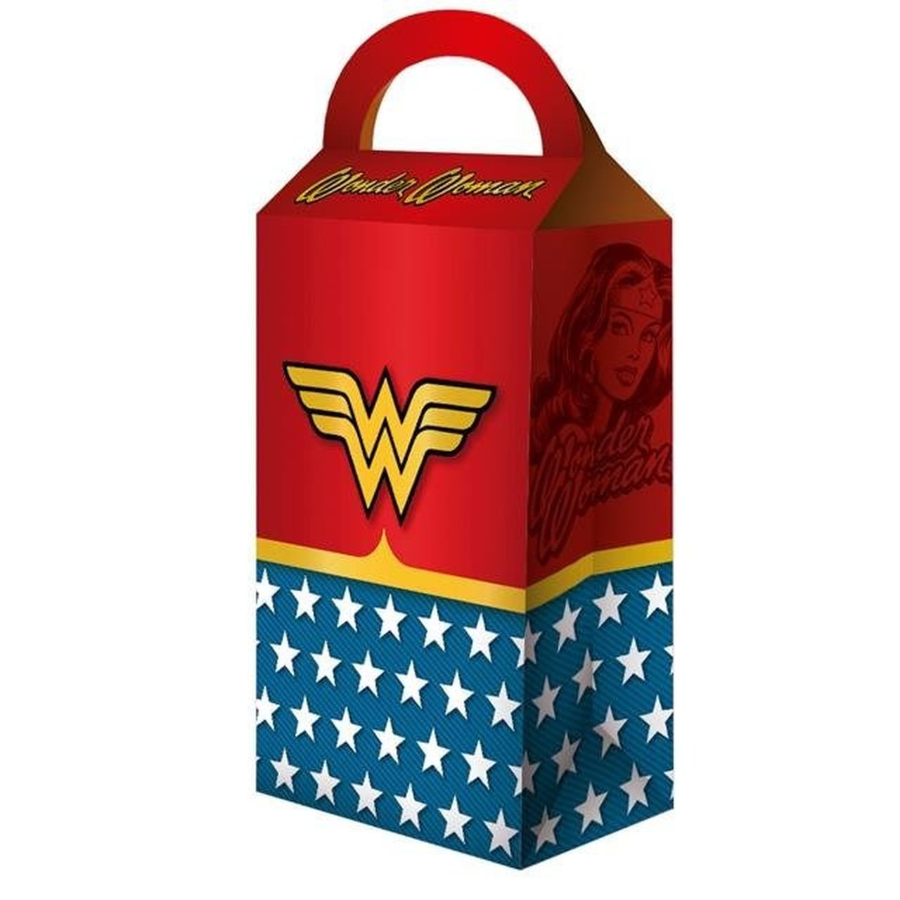 Caixa Surpresa: Wonder Woman (Mulher Maravilha) - Festcolor