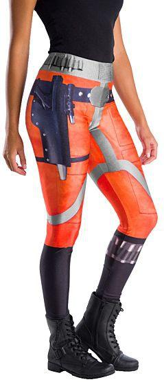 Calça Legging Piloto de X-Wing: Star Wars (Acessório Fantasia) - Rubies Costume - CD