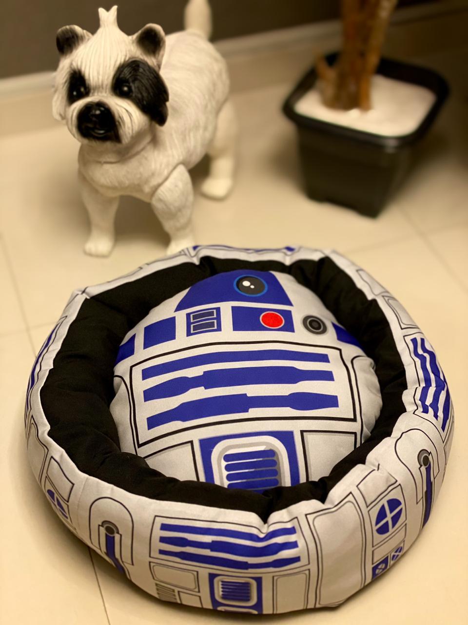 Cama Pet Cachorro e Gato R2-D2: Star Wars - EV