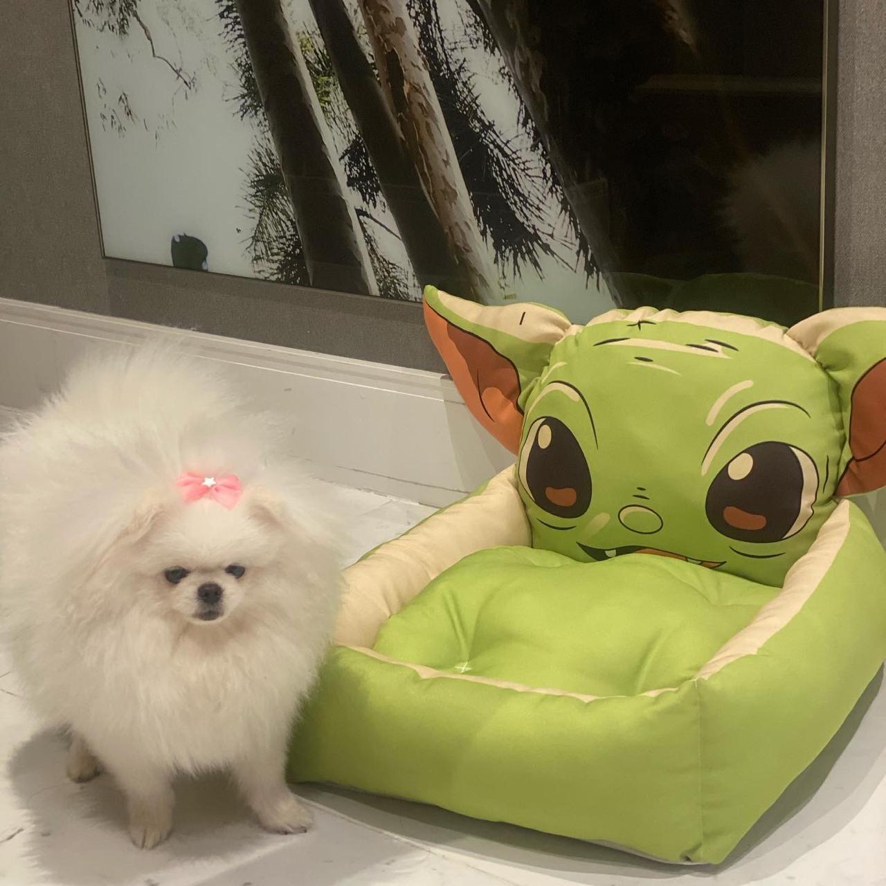 Cama Pet Cachorro e Gato Dog Rosto Yoda: Star Wars Cachorro ou Gato