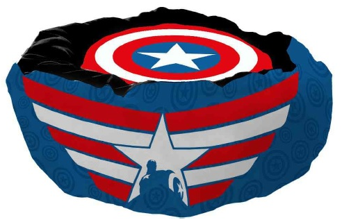Cama Pet Capitão América (Captain America): Marvel Comics