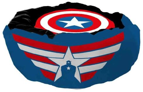 Cama Pet Capitão América (Captain America): Marvel Comics