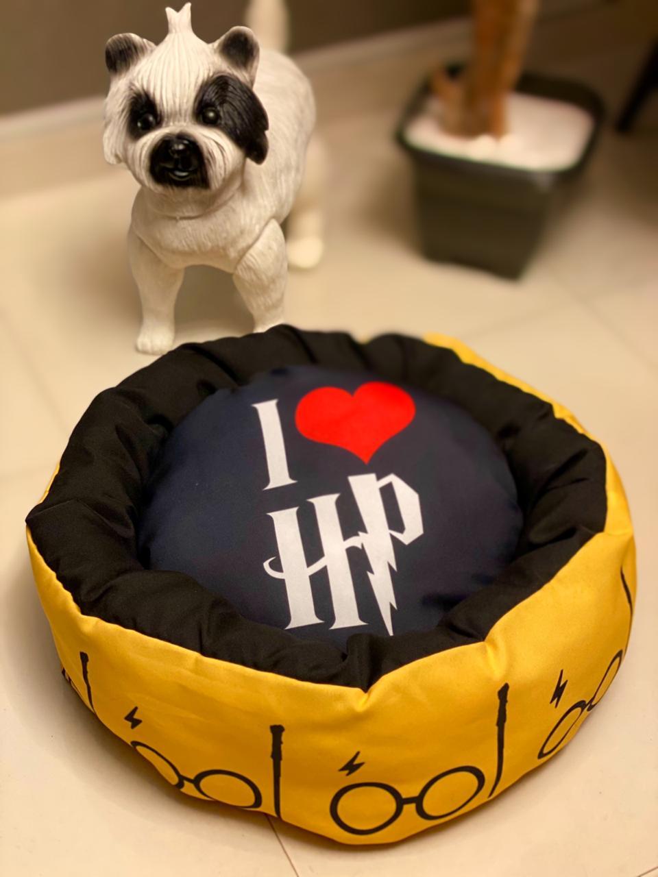 Caminha Pet I Love Harry Poter ( Amarelo )