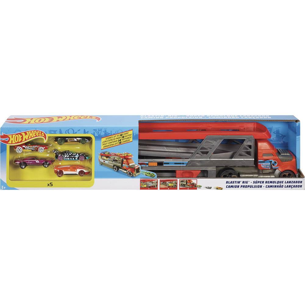 Caminhão Lançador: Hot Wheels - Mattel