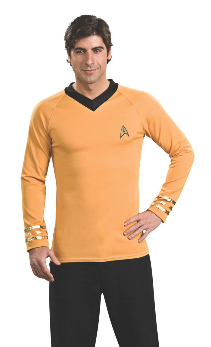 Camisa Capitão Kirk: Star Trek - Rubies Costume - CD