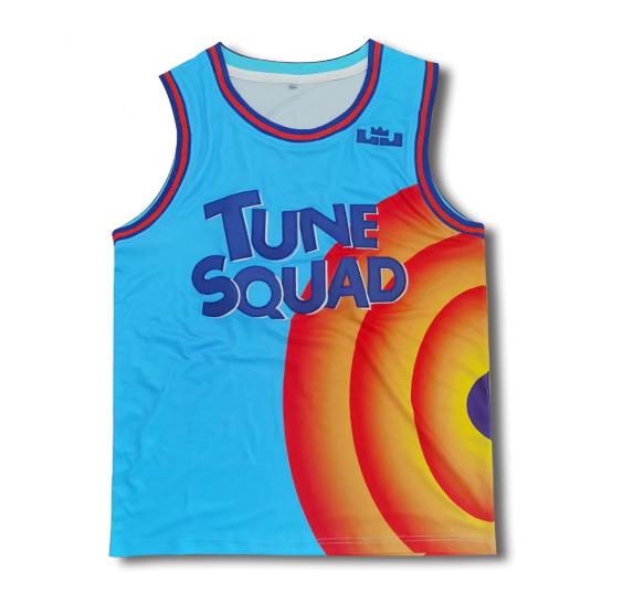 Camisa Regata Esportiva Uniforme Tune Squad: Space Jam Um Novo Legado NBA Basquete Looney Tunes - MKP