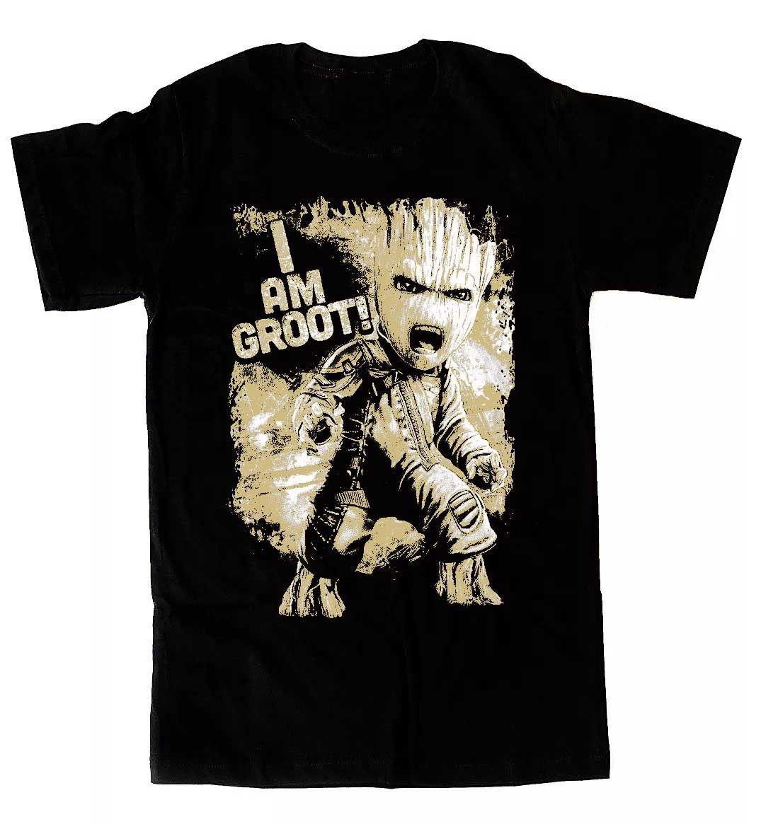 Camiseta Angry Baby Groot