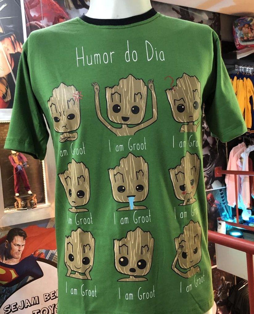 Camiseta Baby Groot (Humor do dia)