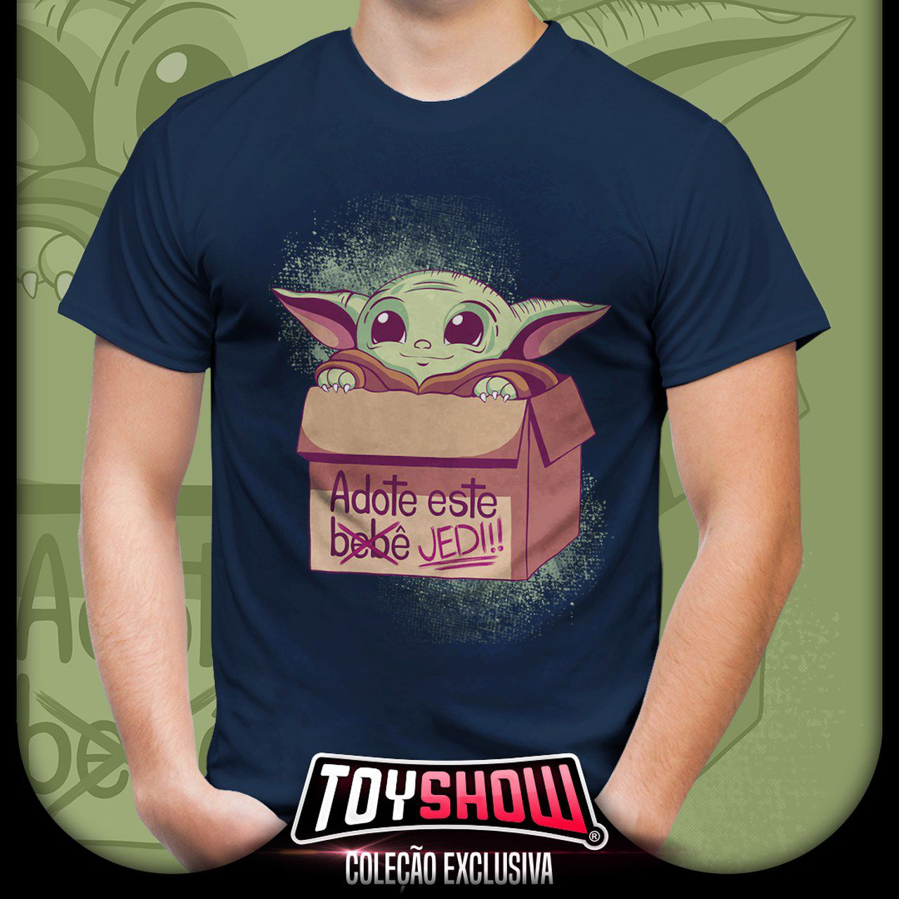 Camiseta Unissex Baby Yoda (The Child)