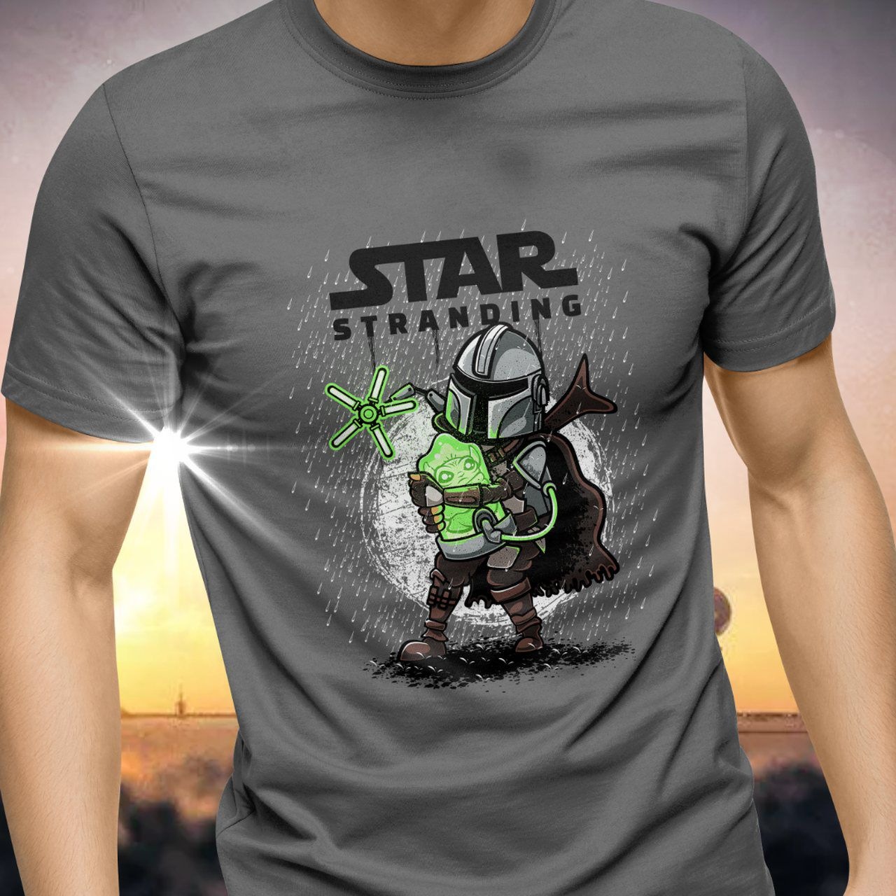 Camiseta Grogu ''Baby Yoda'' (The Child)