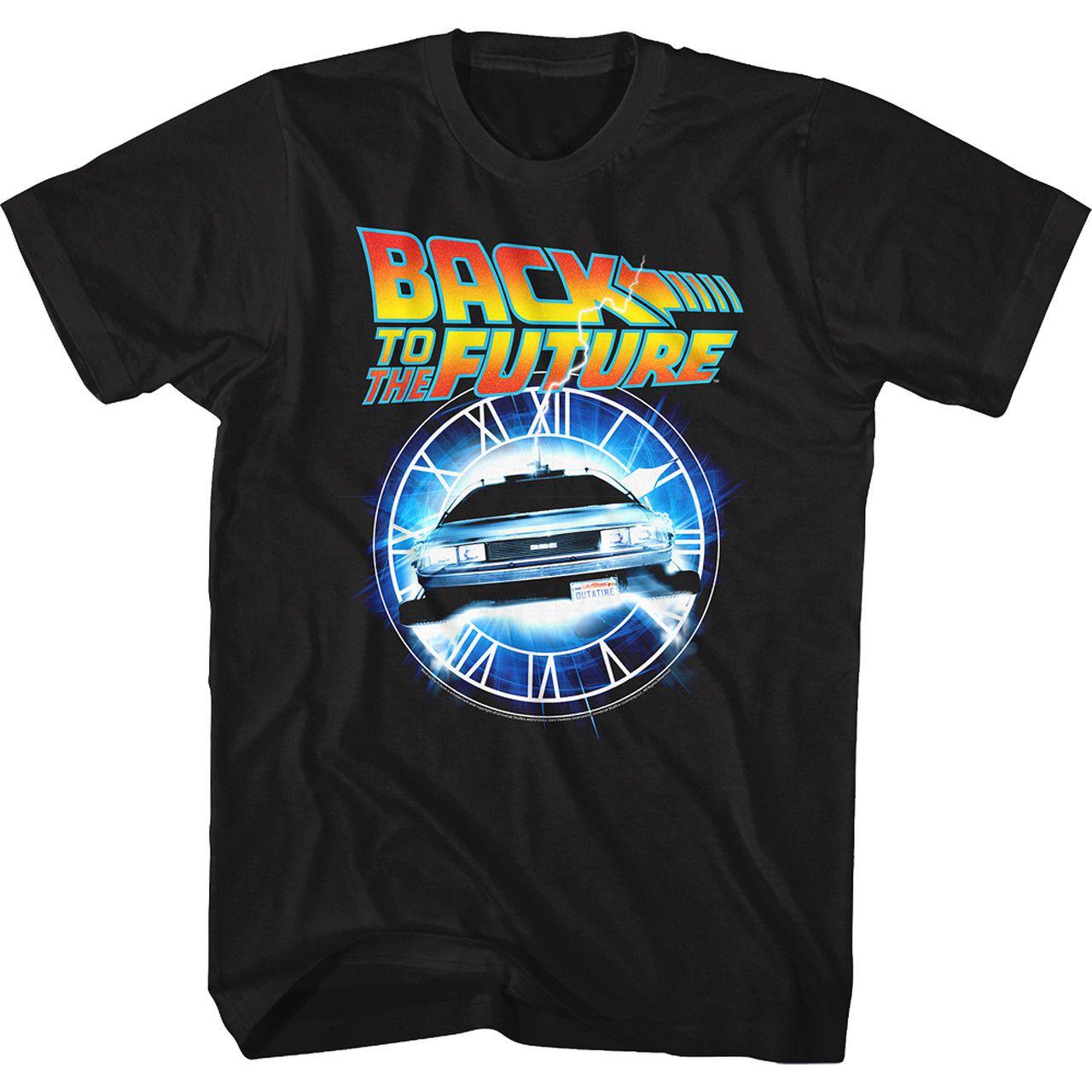 Camiseta Back In Time: De Volta Para o Futuro (Back to the Future)