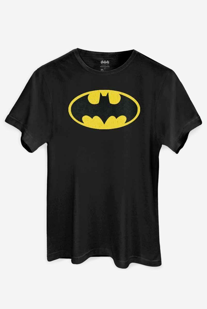 Camiseta Batman Logo Clássico: DC Comics