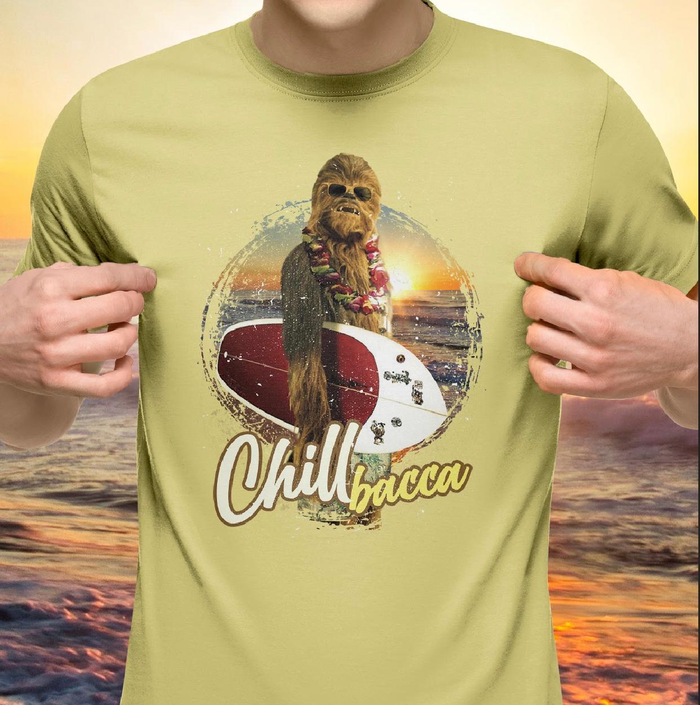 Camiseta: '' Chill Bacca