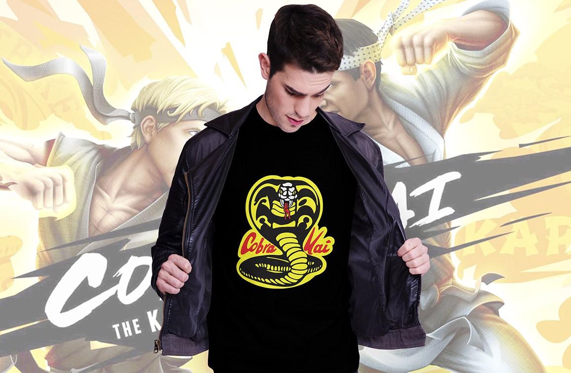 Camiseta Cobra Kai: Karate Kid - Exclusiva Toyshow