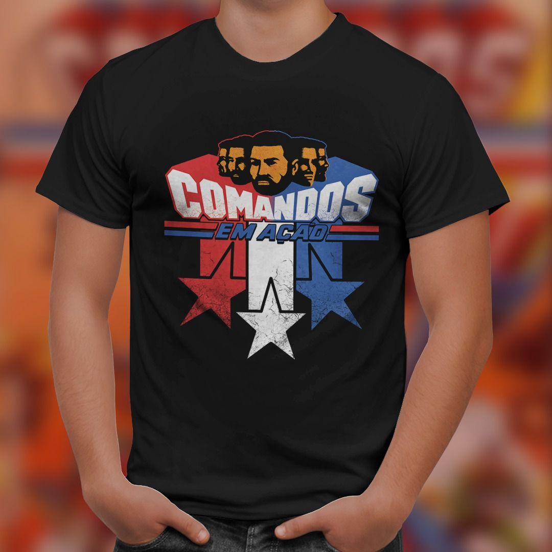 Camiseta Comandos em Ação - ToyShow