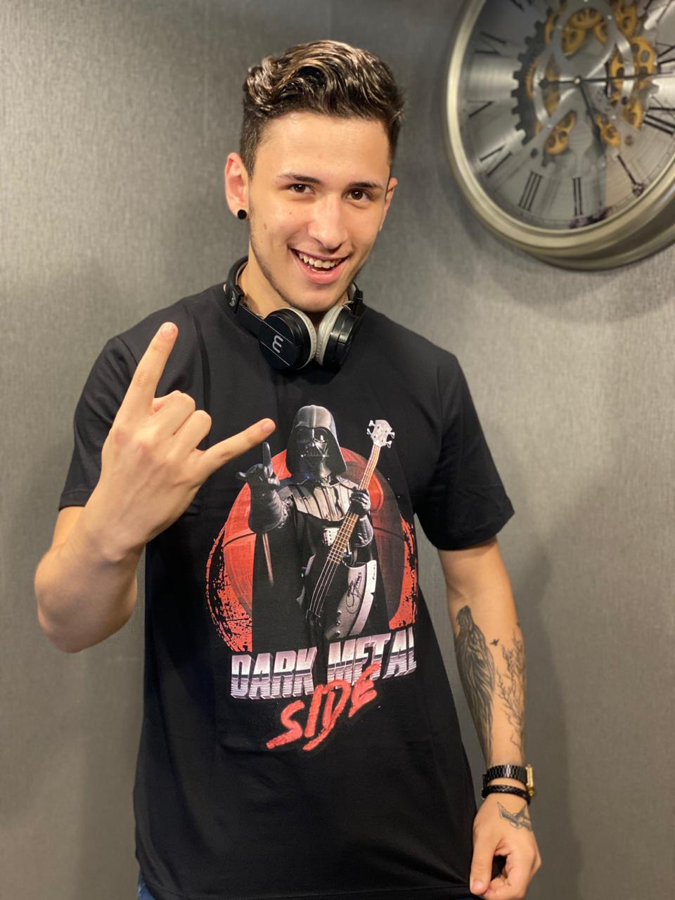 Camiseta: '' Dark Metal Side