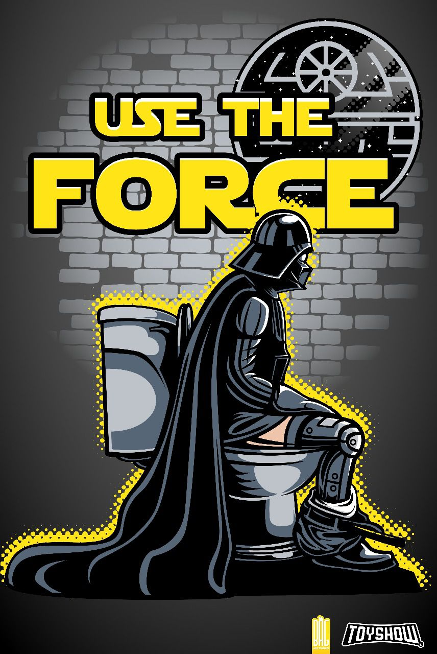 "Camiseta Darth Vader ""Use The Force"": Star Wars - Exclusiva Toyshow"