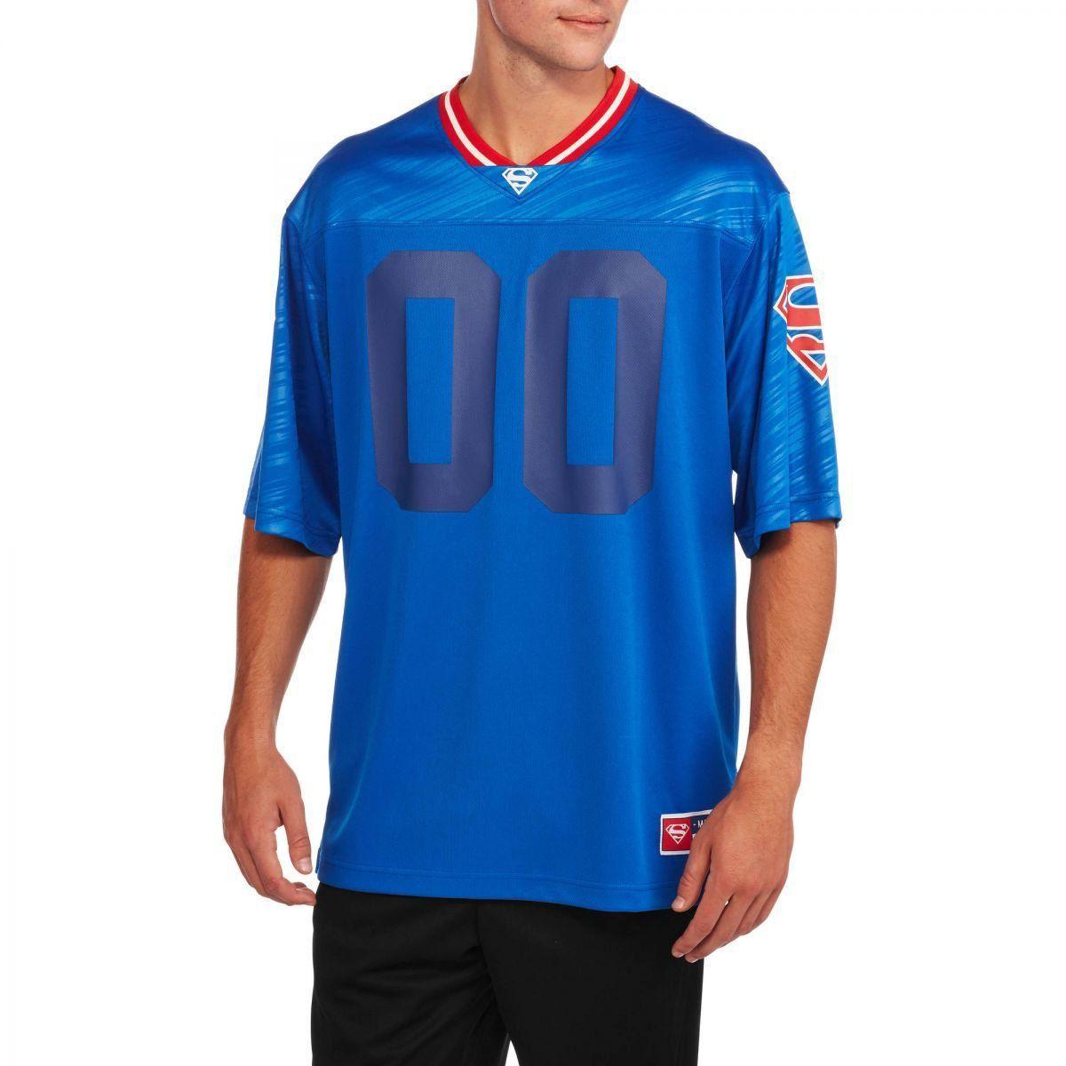 Camiseta Superman Futebol Americano (Football Jersey): DC Comics