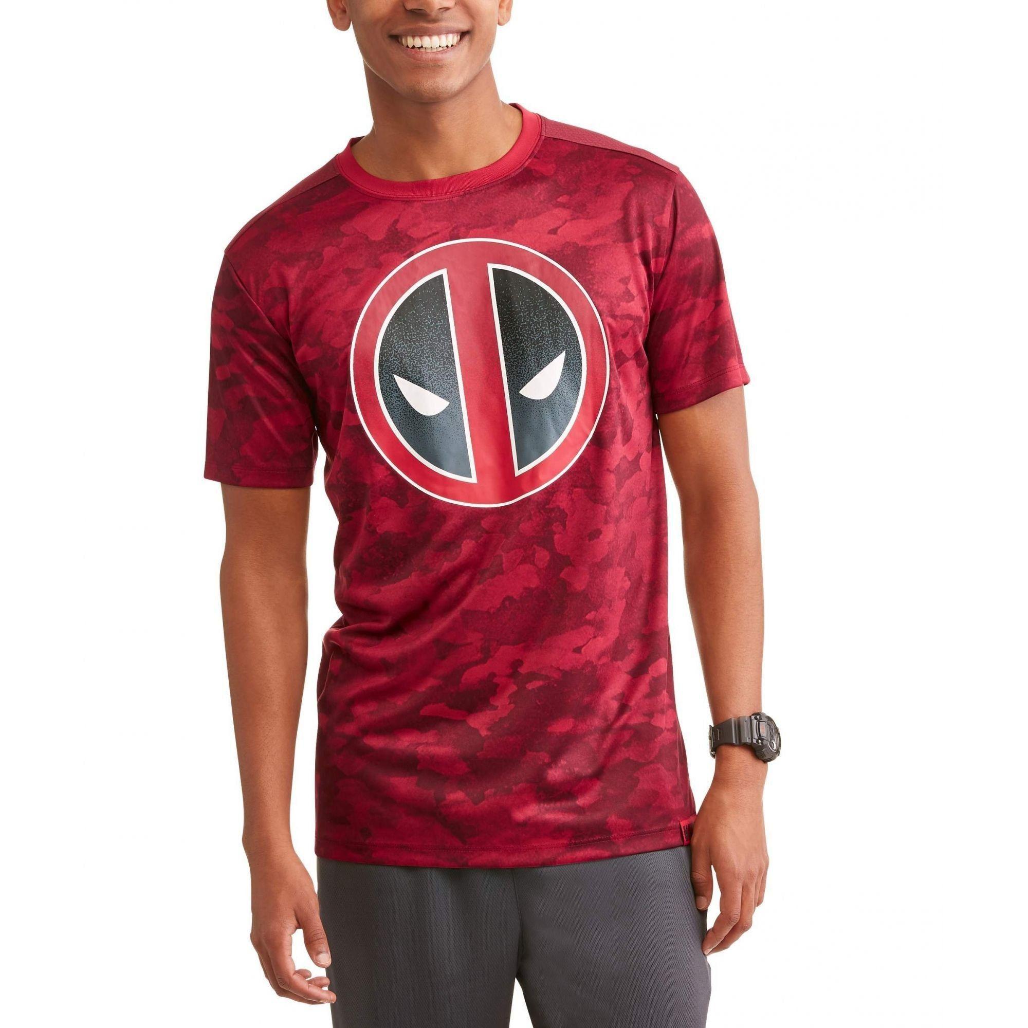 Camiseta Deadpool: Marvel (Vinho)