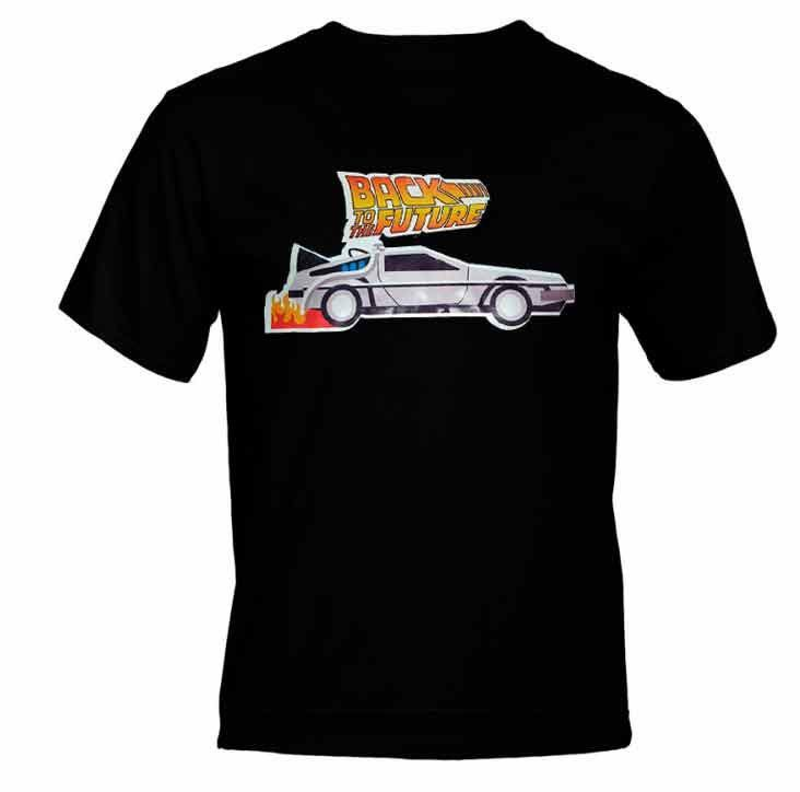Camiseta DeLorean De Volta Para o Futuro (Back To The Future)