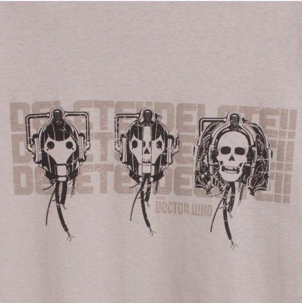 Camiseta Doctor Who: Delete - Studio Geek