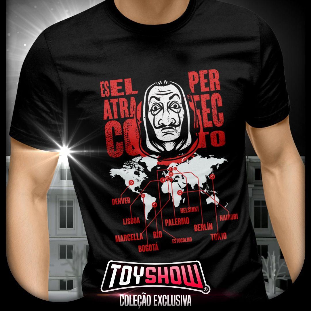 Camiseta Es El Atraco Perfecto: La Casa de Papel - Toy Show