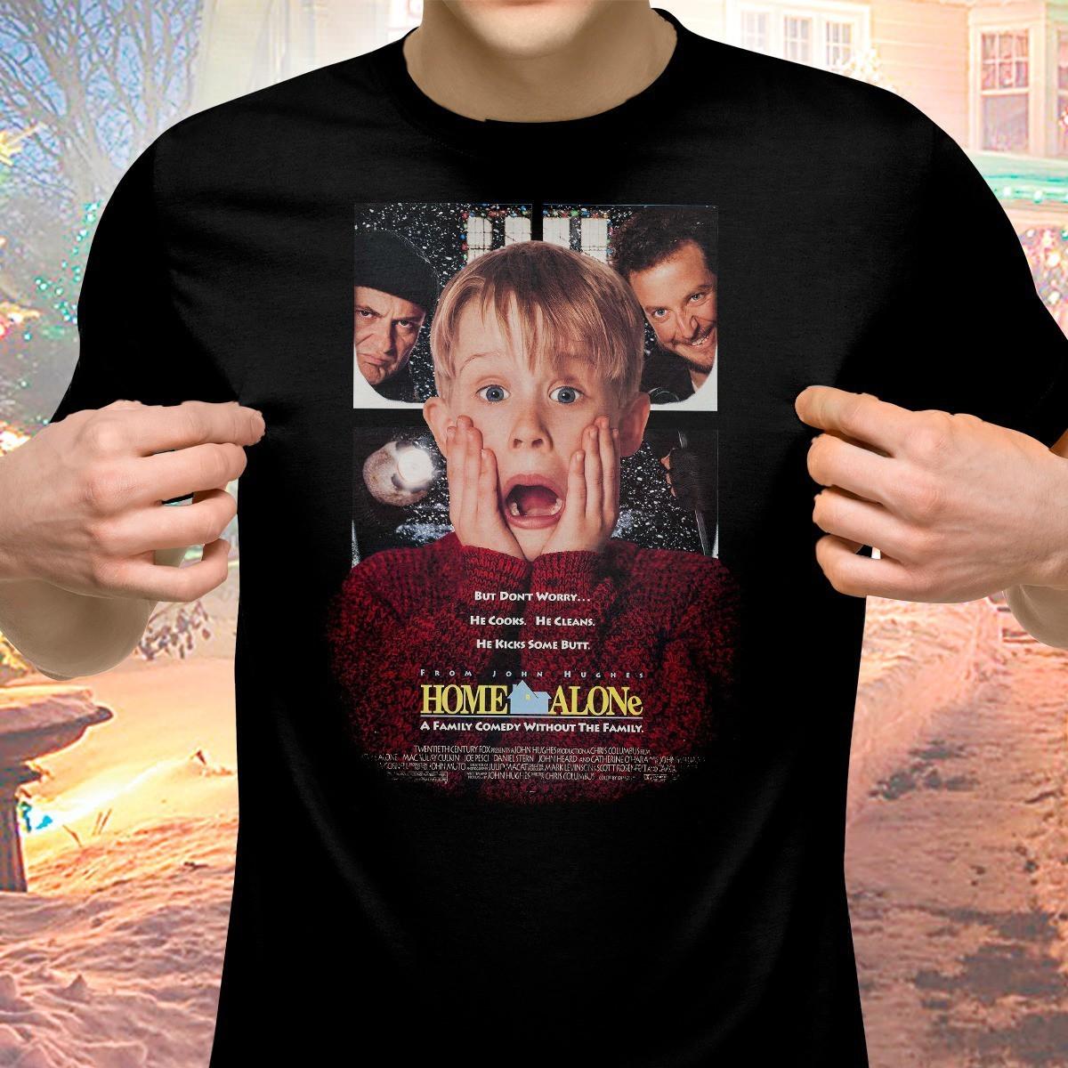Camiseta: Esqueceram de Mim ( Home Alone )